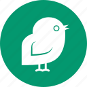 baby, bird, chicken, cock, cockerel, hen, newborn icon