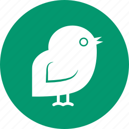 baby, bird, chicken, cock, cockerel, hen, newborn icon