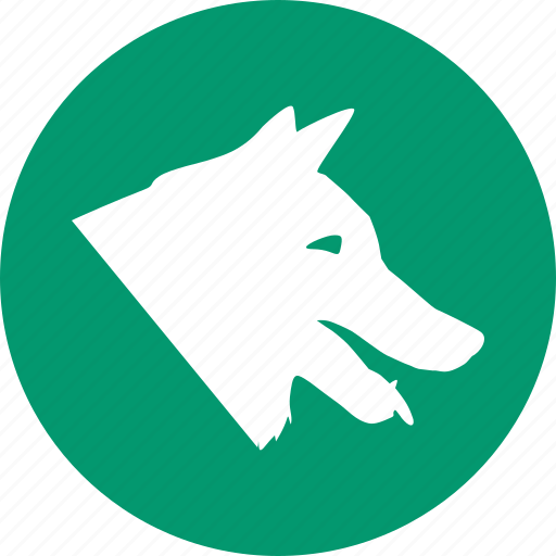 Dog, pet, wolf, domestic animals, pets, vet, veterinary icon - Download on Iconfinder