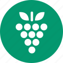 berry, fruit, grape, grapes, nature, vegetarian, wine icon