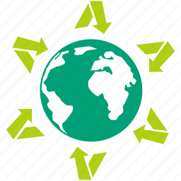 earth, eco, environment, global, globe, green house effect, planet icon