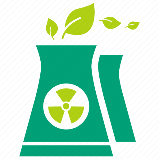 ecology, electricity, energy, green energy, nuclear, power, reactor icon
