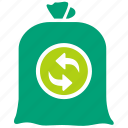 eco, garbage, green, recycle, reduce, reuse, trash icon