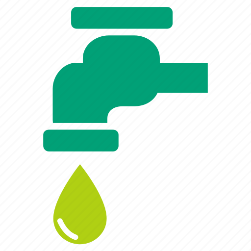 eco, ecology, environment, faucet, save water, water icon