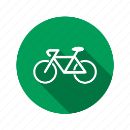 bicycle, bike, biking, cycling, eco, gear, green, racing, road, travel icon