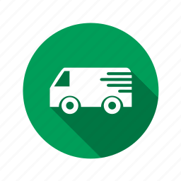 business, buy, deliver, delivery, ecommerce, green, moving, online, shipping, shop, shopping, truck icon