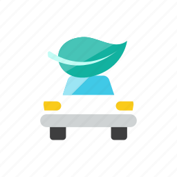 car, eco icon