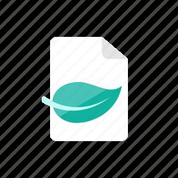 eco, paper icon
