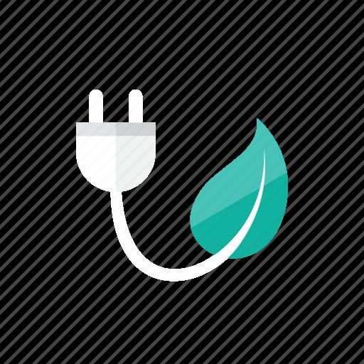 eco, plug icon