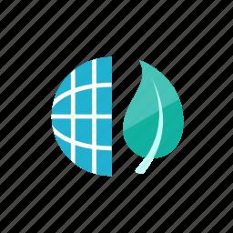 eco, global icon
