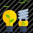 ecological lightbulb, ecology light, ecology lightbulb, lightbulb, lightbulb icon, lightbulb idea icon
