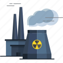 nuclear radiation, radiation, radiation sign, radiation symbol, solar radiation, sun radiation icon