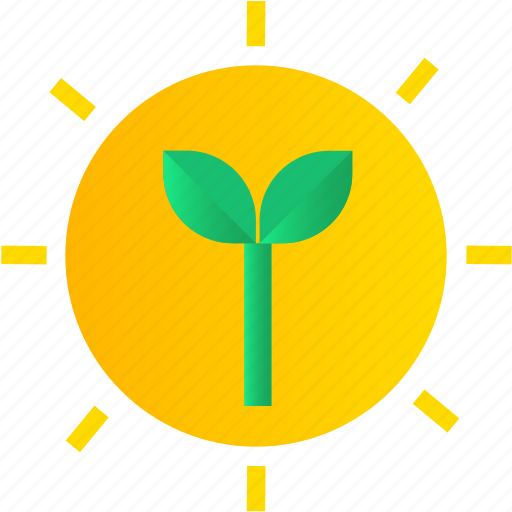 earth, eco, ecology, green, plastic, recycle, sun icon