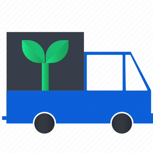 earth, eco, ecology, green, plastic, recycle, truck icon