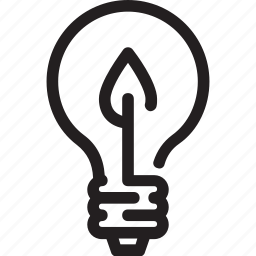bulb, eco, ecology, green, light, recycle icon