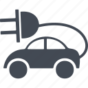 alternative, ecology, electric, innovation, transport icon