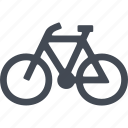 bike, eco, ecology, transport icon