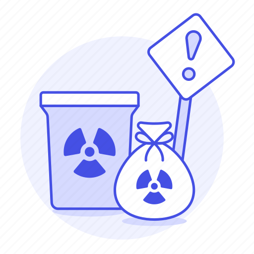 can, caution, danger, ecology, harmful, hazard, nuclear, radiation, radioactive, symbol, waste icon