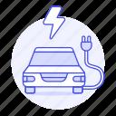 ev, battery, plug, rechargeable, cable, phev, vehicles, flash, transport, car, e, electric, ecology