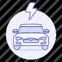 ecology, flash, car, electric, rechargeable, transport, phev, battery, thunderbolt, ev, e, vehicles