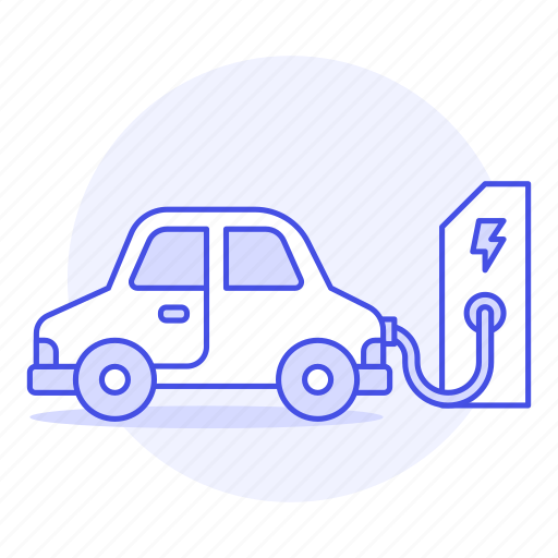 battery, car, cecology, charging, e, electric, ev, flash, phev, plugged, rechargeable, vehicles icon