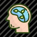 brain, ecology, environment, nature icon
