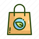 eco, ecology, nature, packaging icon