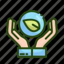 ecology, nature icon