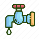 ecology, resource, water icon