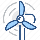 clean, eco, energy, green, plant, power, windmill icon