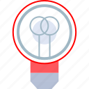 brilliant, idea, light, lightbulb icon