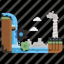 ecology, energy, industry, clean, power, kinetic, water