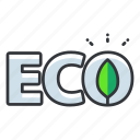 eco, ecology, save earth icon