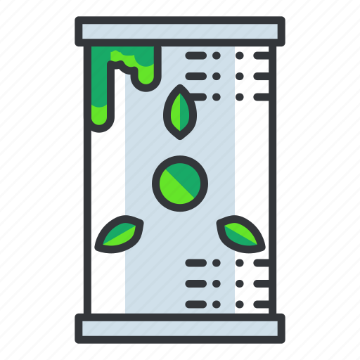 can, ecology, green icon