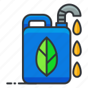 ecology, fuel, green icon