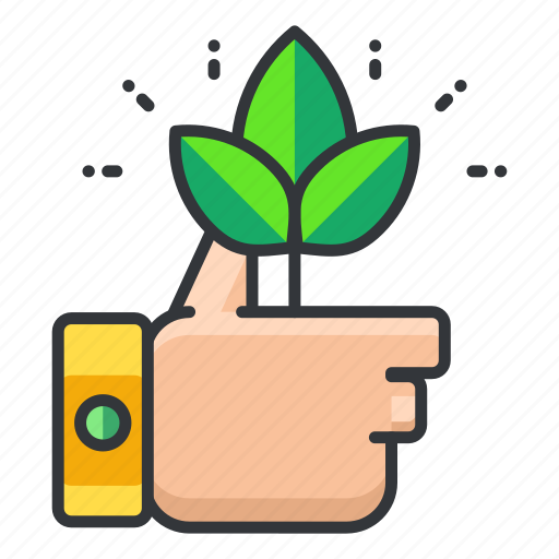 ecology, like, plant icon