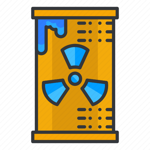 can, ecology, nuclear icon