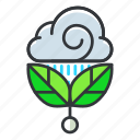 ecology, grow, plant icon