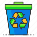 bin, recycle, ecology