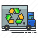 recycle, ecology, truck