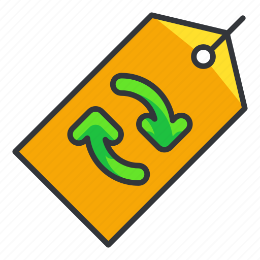 Ecology, reuse, tag icon - Download on Iconfinder
