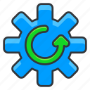 ecology, options, settings icon