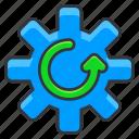 ecology, options, settings icon