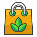 bag, ecology, shopping icon