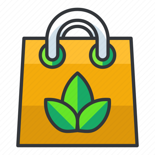 Bag, ecology, shopping icon - Download on Iconfinder