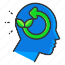 ecology, idea, thought icon