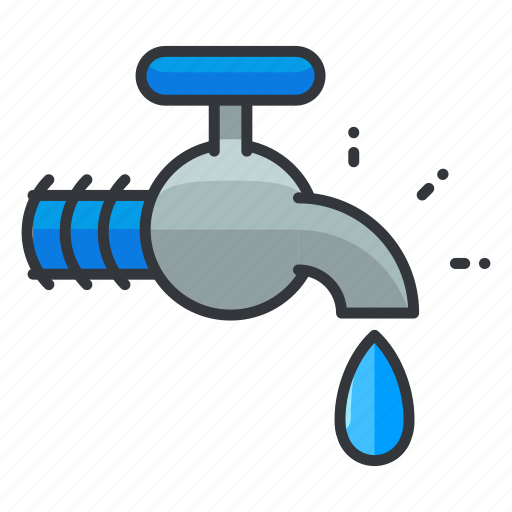 ecology, tap, water icon