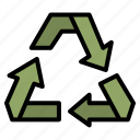 recycle, eco, friendly, sign