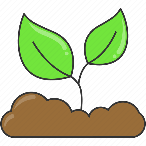 eco, environment, green, leaves, nature, shoot, sprout icon