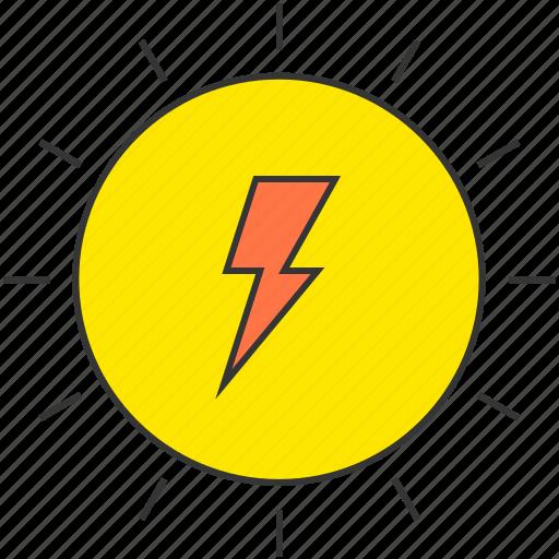 eco, electricity, power, solar energy, sun icon
